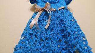 getlinkyoutube.com-Vestido Linea de Flores parte 1 de 2