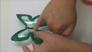 getlinkyoutube.com-Recycled Crafts: a Plastic Bottle Butterfly - Recycled Bottles Crafts