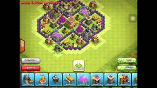 getlinkyoutube.com-[ coc ] village hdv 6 rush