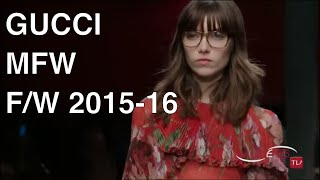 getlinkyoutube.com-GUCCI Fashion Show Fall Winter 2015 2016 -   HD