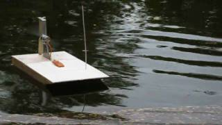 getlinkyoutube.com-Airboat test home made