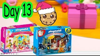 getlinkyoutube.com-Polly Pocket, Playmobil Holiday Christmas Advent Calendar Day 13 Toy Surprise Opening Video