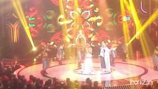 Duet evi masamba & iyet bustami_bikin menggelegar panggung DA 4 konser puncak  final