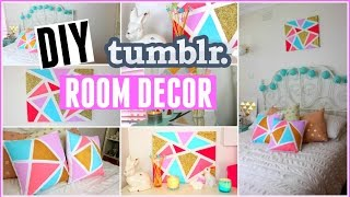 getlinkyoutube.com-DIY Tumblr Room Decor for Summer | Easy + Inexpensive Tumblr Inspired Room Diys!
