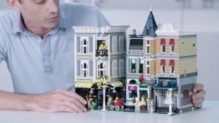 getlinkyoutube.com-LEGO 10255 Assembly Square Designer Video