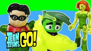 "getlinkyoutube.com-TEEN TITANS GO! Parody ""Robin & Raven Tell Beast Boy A Story"" a Teen Titans Go Toy Video"
