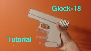 getlinkyoutube.com-Paper Glock-18 (CS:GO) Tutorial