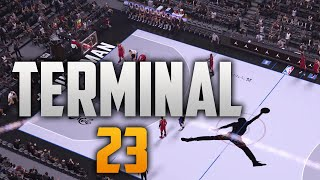 getlinkyoutube.com-NBA 2K16 - NBA Live 16 Jordan Terminal 23 NYC Jersey & Court Tutorial