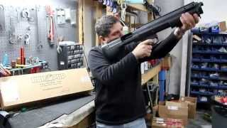 getlinkyoutube.com-Bullpup Unlimited Shotgun Conversion Kit - Remington 870