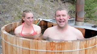 getlinkyoutube.com-Why We Built a Hot Tub & Deck Before Our Off Grid House
