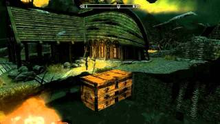 getlinkyoutube.com-Skyrim glitch chests (with some of the best items) [merchant chests]