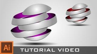 getlinkyoutube.com-Tutorial : How to create 3D Logo in Adobe Illustrator CC 2014