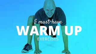 getlinkyoutube.com-5 Must-Have Pre-Workout Warm up Exercises