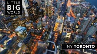 getlinkyoutube.com-Tiny Toronto (Time Lapse - Tilt Shift - 4k)