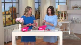 getlinkyoutube.com-L'Occitane Pivoine Sublime Perfecting Skincare Kit W/ Bag with Sandra Bennett
