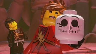 getlinkyoutube.com-LEGO Ninjago: Shadow of Ronin Walkthrough Part 5 - Caves of Despair & The Obsidian Sword (3DS/Vita)