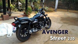 getlinkyoutube.com-New Bajaj Avenger 220 Street First Look 2015