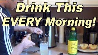 getlinkyoutube.com-Drink This EVERY Morning! - Lemon Juice & Apple Cider Vinegar