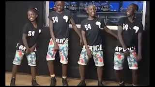 getlinkyoutube.com-Ghetto Kids Dancing Osobola Triplets on TV Show
