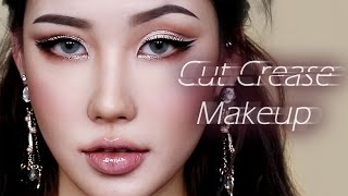 getlinkyoutube.com-[Eng/Thai] Cut Crease Makeup Tutorial 컷 크리즈 메이크업 l 이사배(Risabaeart) Korean Beauty Creator