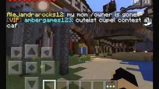 getlinkyoutube.com-3 Secret Rooms in the LifeBoat Server! Minecraft Pocket Edition (0.11.1)