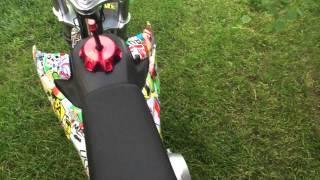 getlinkyoutube.com-SSR 125cc pit bike start up