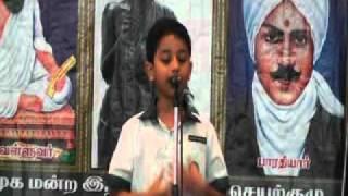 Saajid Story Telling @ Tamil Language Competition 2011,Singapore