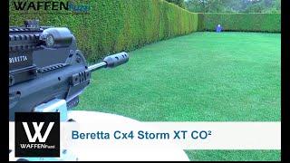 getlinkyoutube.com-Beretta Cx4 Storm XT CO² Gewehr, CO2 Schusstest, www.waffenfuzzi.de