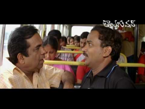 Brahmi advise - Venu madhav - caught by Ticket Collector