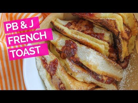 Peanut Butter & Jelly French Toast Sandwich Recipe
