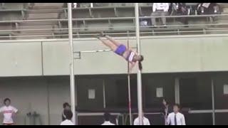 getlinkyoutube.com-2014関東インカレ陸上  女子棒高跳び 決勝 Women's Pole Vault