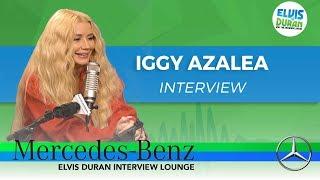 Iggy Azalea on New Album 'Surviving The Summer' | Elvis Duran Show