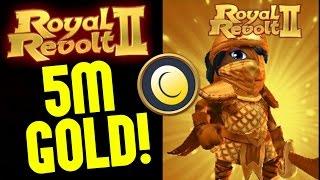 getlinkyoutube.com-ROYAL REVOLT 2 - 5M GOLD IN ONE RAID!!