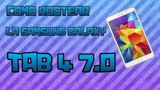 getlinkyoutube.com-Como Rootear Samsung Galaxy Tab 4 7.0 modelo smt230