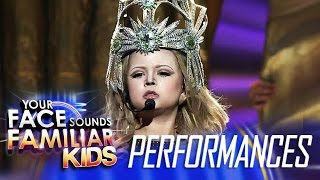 Your Face Sounds Familiar Kids Finale: Xia Vigor as Madonna - Vogue
