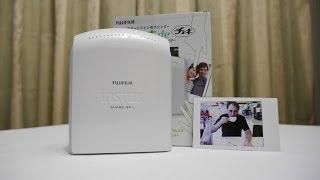 getlinkyoutube.com-Fujifilm Instax Share SP 1 Printer My Review