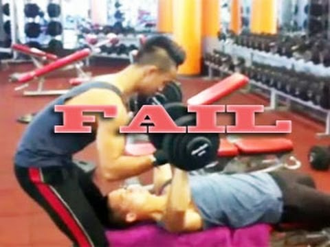 10 Epic Gym Fails Compilation