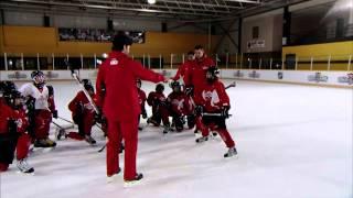 getlinkyoutube.com-NHL Skills: Faceoff From Canadian Tire Hockey School