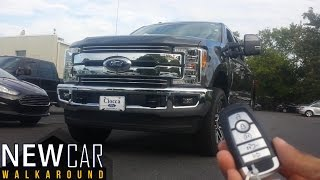 2017 Ford Super Duty F-250 FX4 Lariat In Depth Walkaround Interior Exterior Features