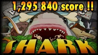getlinkyoutube.com-Prehistoric Shark Completed: 1,295 840 highscore, Mausland.de fun Games