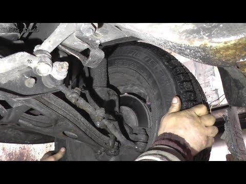 Диагностика передней подвески Opel Omega