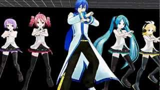 getlinkyoutube.com-MMD Gangnam style Full version