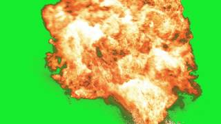 Explosion 10 - Green Screen Green Screen Chroma Key Effects AAE