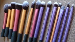 Les pinceaux Real Techniques