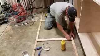 Kitchen cabinet build part 1