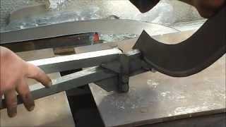 getlinkyoutube.com-Самодельный кромкогиб, работа и устройство. (metal bender, press brake)