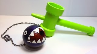 getlinkyoutube.com-How to Make a Super Mario Chain Chomp KENDAMA