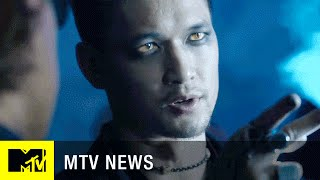 getlinkyoutube.com-'Shadowhunters': Meet Magnus Bane | MTV News