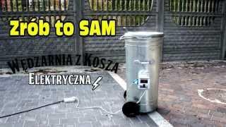 getlinkyoutube.com-Jak zrobić wędzarnie,wędliny domowe,domowym sposobem,Barrel Smoker,DIY