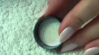 getlinkyoutube.com-Efekt syrenki / Mermaid Effect MAC Pigment Nail Tutorial